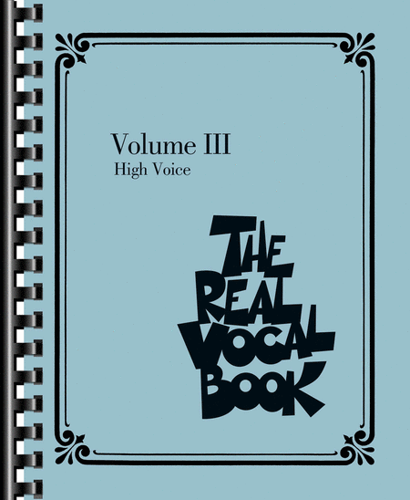 The Real Vocal Book - Volume III