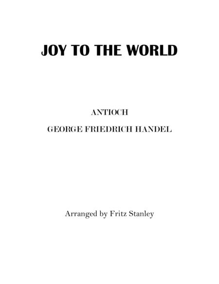 JOY TO THE WORLD -  SOLO PIANO