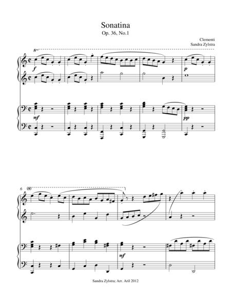 Sonatina-Clementi (Op. 36, No. 1)