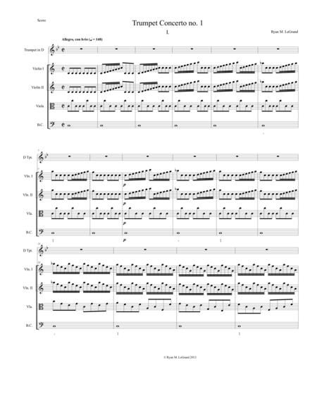 Trumpet Concerto no. 1, Op. 18