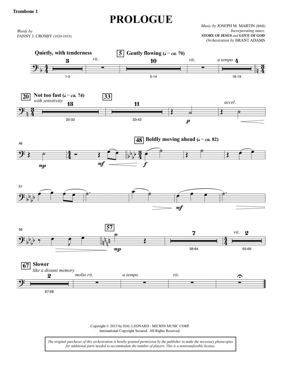 Testimony of Life - Trombone 1
