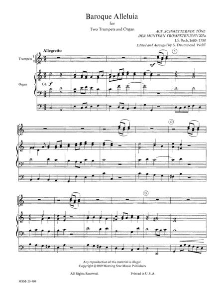 Baroque Alleluia