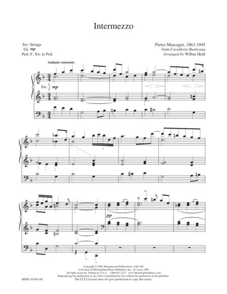 Intermezzo (from Cavalleria Rusticana - P. Mascagni)