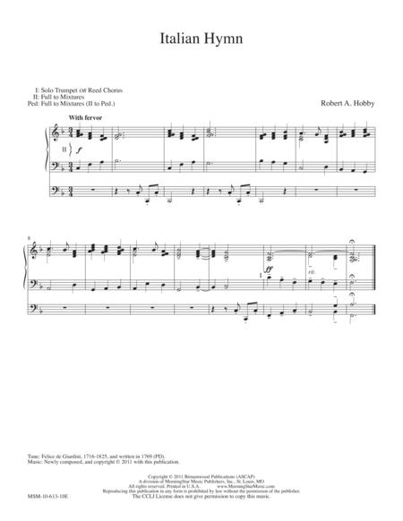 Italian Hymn