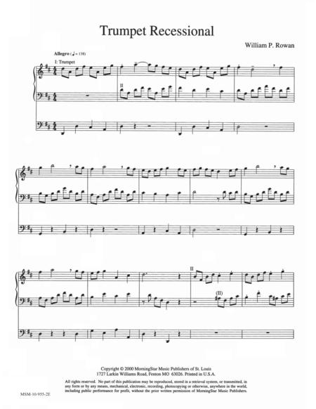 Trumpet Recessional
