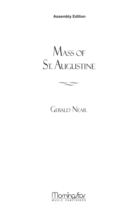 Mass of St. Augustine (Assembly Edition)