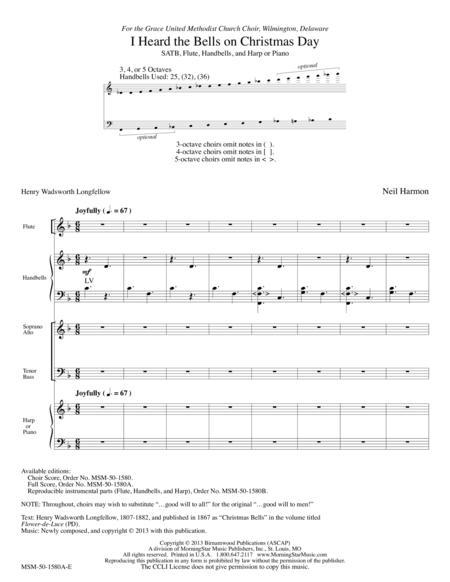 I Heard the Bells on Christmas Day (Full Score)
