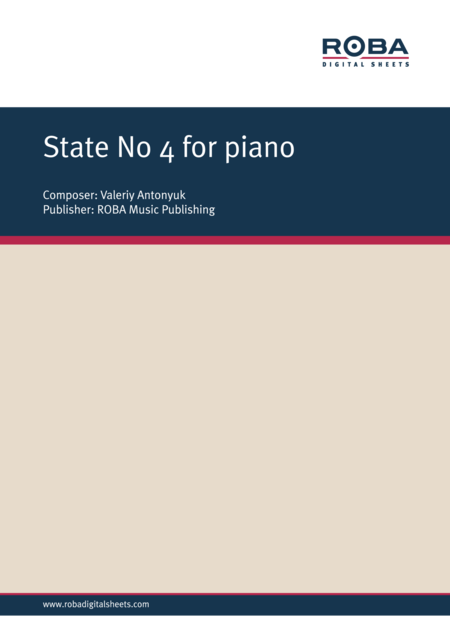 State No. 4 for piano