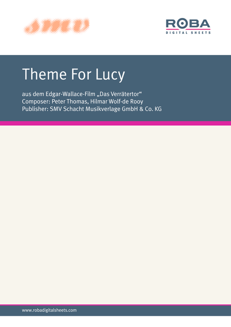Theme For Lucy
