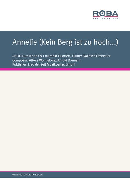 Annelie (Kein Berg ist zu hoch...)