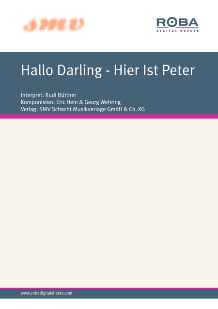 Hallo Darling - Hier Ist Peter