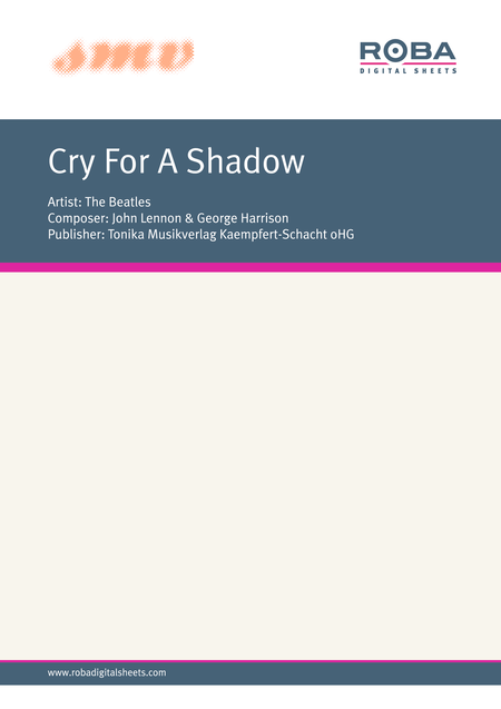 Cry For A Shadow