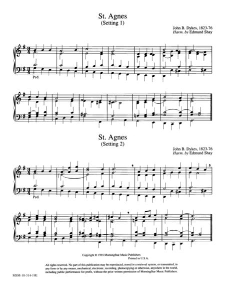 St. Agnes (2 settings)