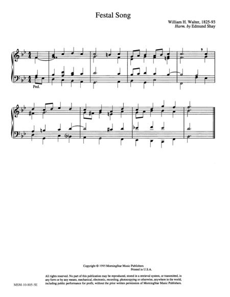 Festal Song