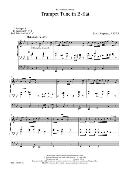 Trumpet Tune in B-flat