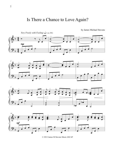 Is There a Chance to Love Again?