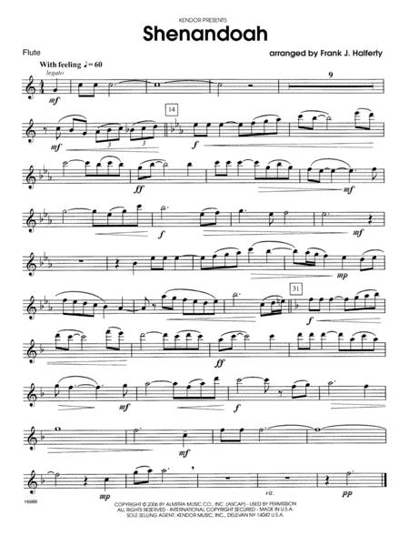 Shenandoah - Flute