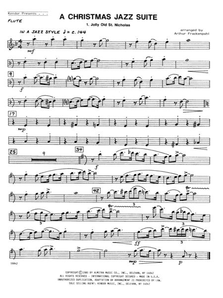 Christmas Jazz Suite, A - Flute
