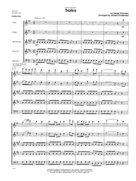 Troika - Full Score