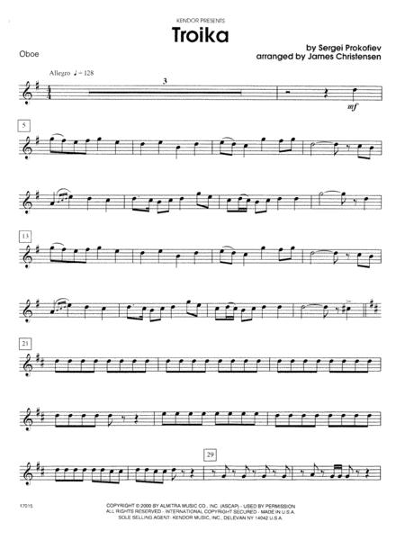 Troika - Oboe
