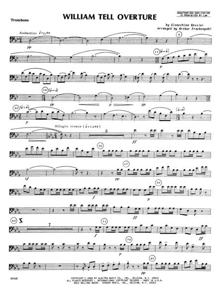 William Tell Overture - Trombone