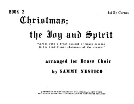 Christmas; The Joy & Spirit - Book 2/1st Cornet
