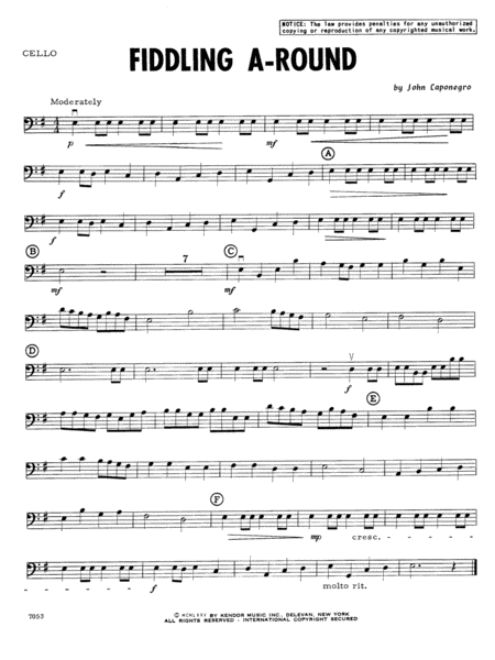 Fiddling A-Round - Cello