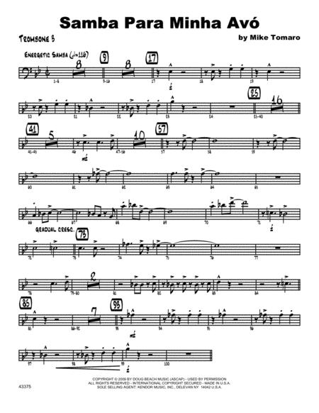 Samba Para Minha Avo - Trombone 3
