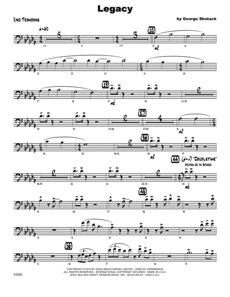 Legacy - Trombone 2