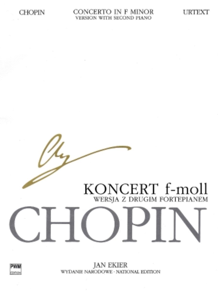 Concerto in F minor Op. 21 for 2 Pianos