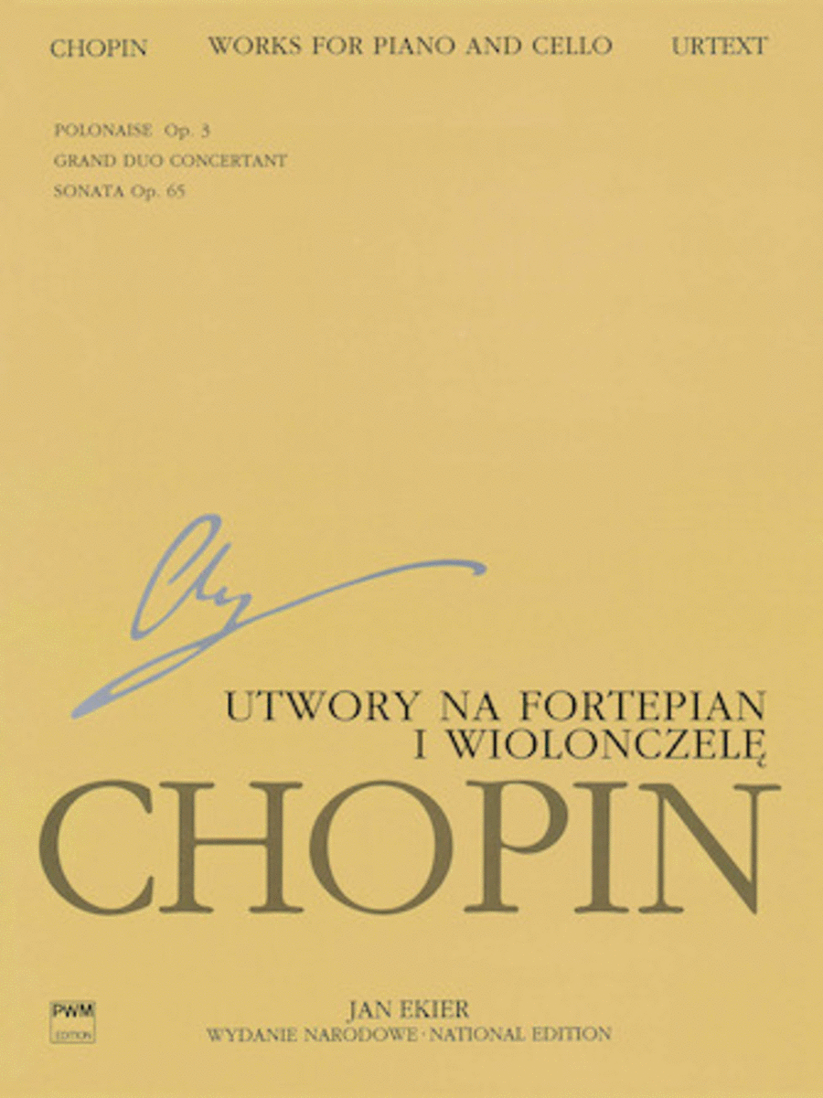 Works for Piano and Cello