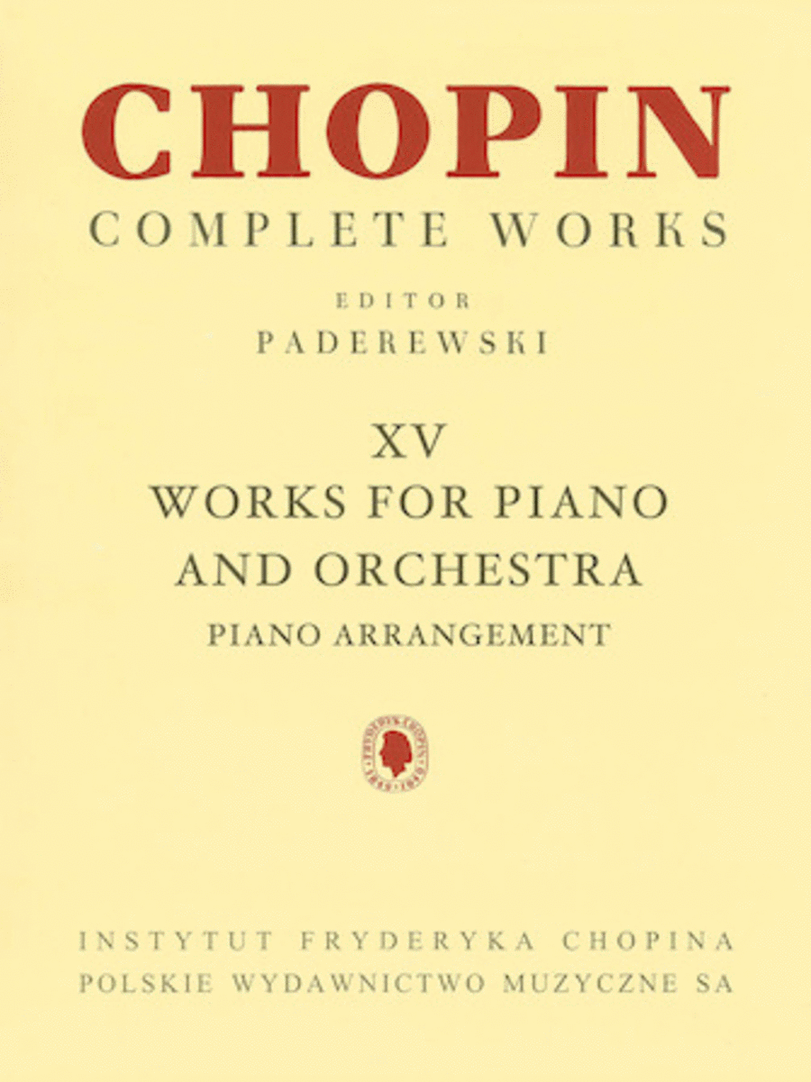 Works for Piano and Orchestra (2 Pianos Reduction)