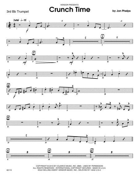 Crunch Time - 3rd Bb Trumpet