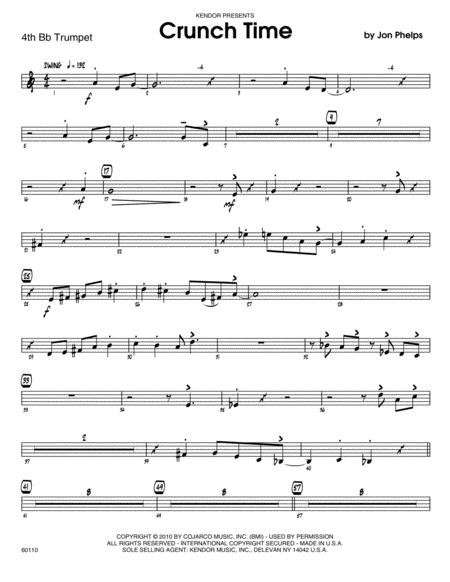 Crunch Time - 4th Bb Trumpet