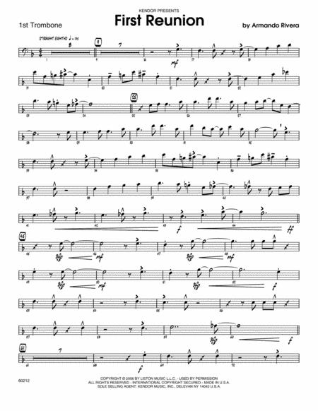 First Reunion - Trombone 1