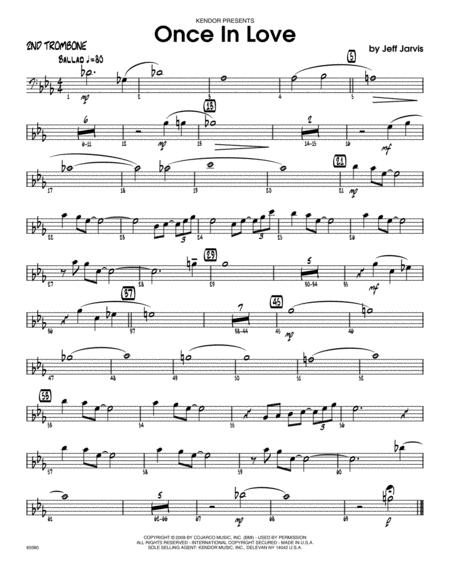 Once In Love - Trombone 2