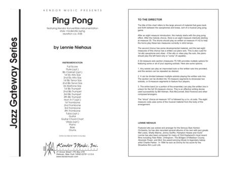 Ping Pong - Full Score