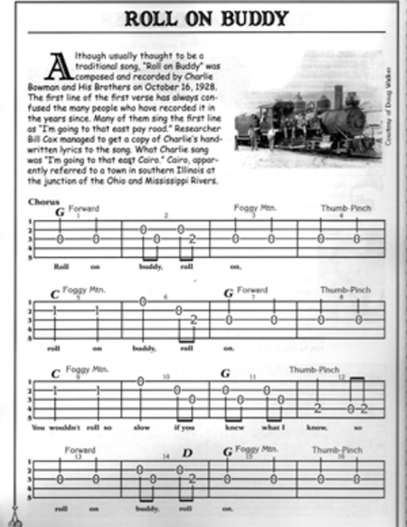 Bluegrass Jamming on Banjo
