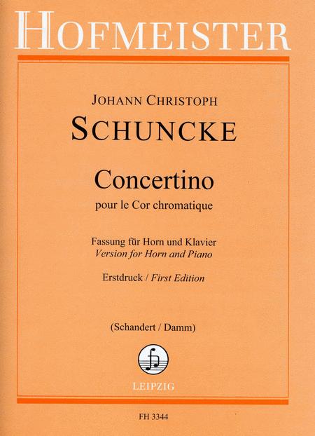 Concertino pour le Cor chromatique / KlA