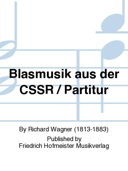 Blasmusik aus der CSSR / Partitur