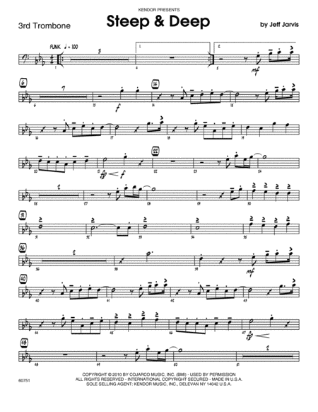 Steep & Deep - Trombone 3
