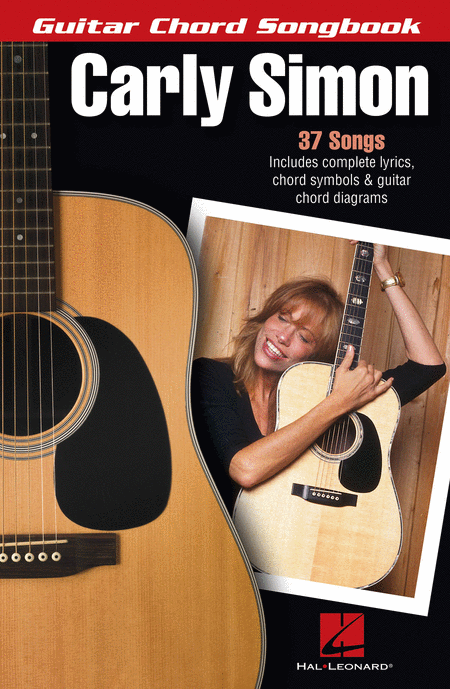 Carly Simon - Guitar Chord Songbook