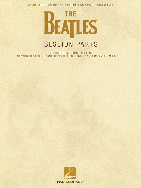 The Beatles Session Parts