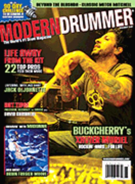 Modern Drummer Magazine Back Issue - November 2008