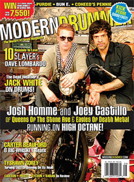 Modern Drummer Magazine Back Issue - September 2009