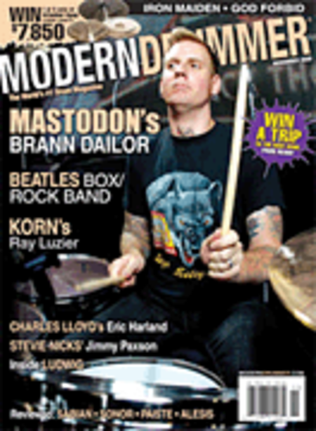 Modern Drummer Magazine Back Issue - November 2009