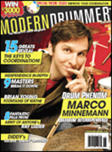 Modern Drummer Magazine Back Issue - June 2007