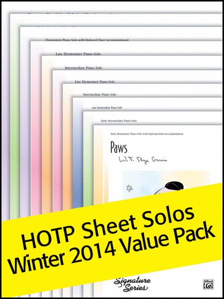 Sheet Solos Winter 2014 (Value Pack)