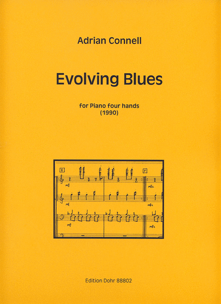 Evolving Blues fur Klavier vierhandig (1990)