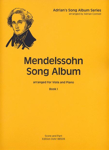 Mendelssohn Song Album I fur Viola und Klavier